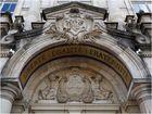 Détail de la porte d'entrée de l'Hôtel de ville  --  Limoges