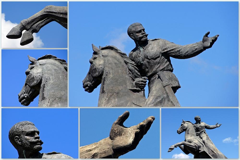 ..Detail der Statue..