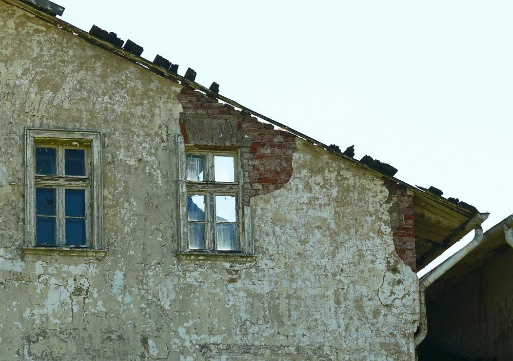 """Detail der Villa """"Möve"""""""