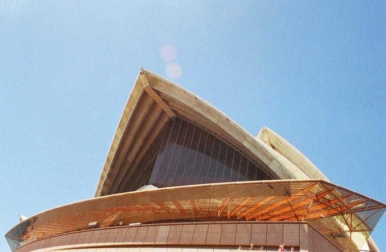 Detail des Opernhauses in Sydney