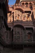 Détail du fort de Mehrangarh, Jodpur, Rajasthan.
