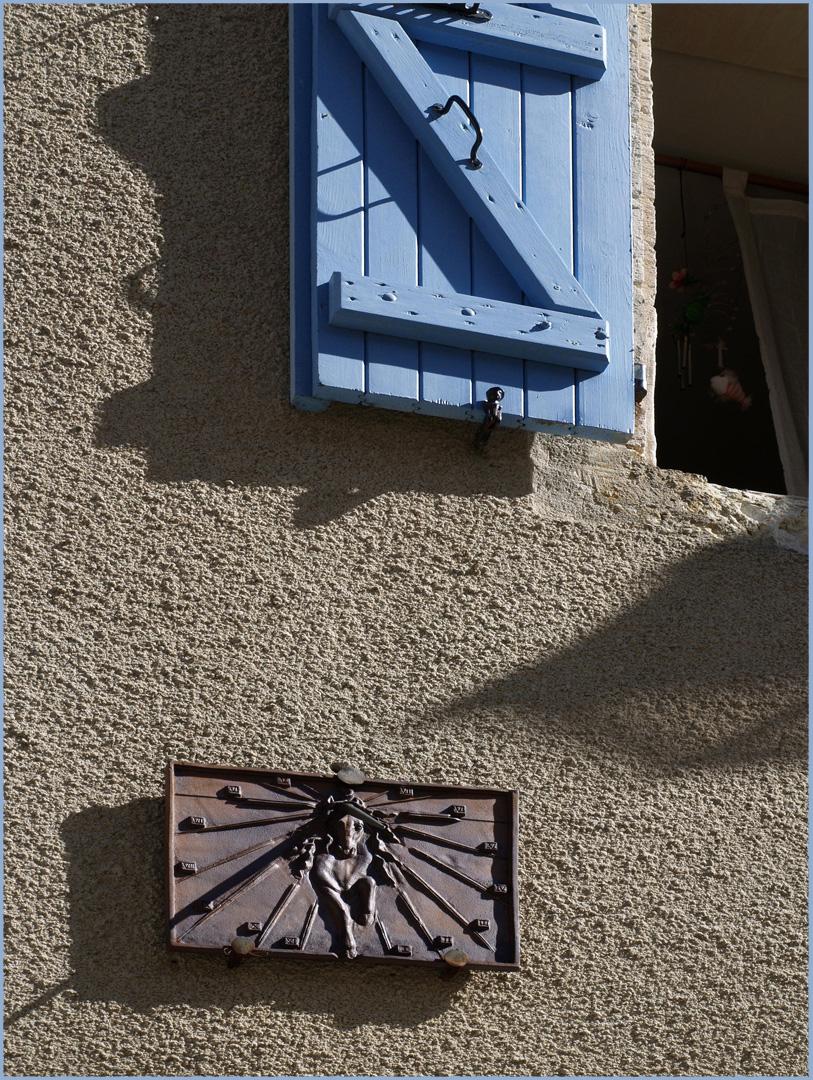 Détail d'une maison à Miradoux  --  Gers