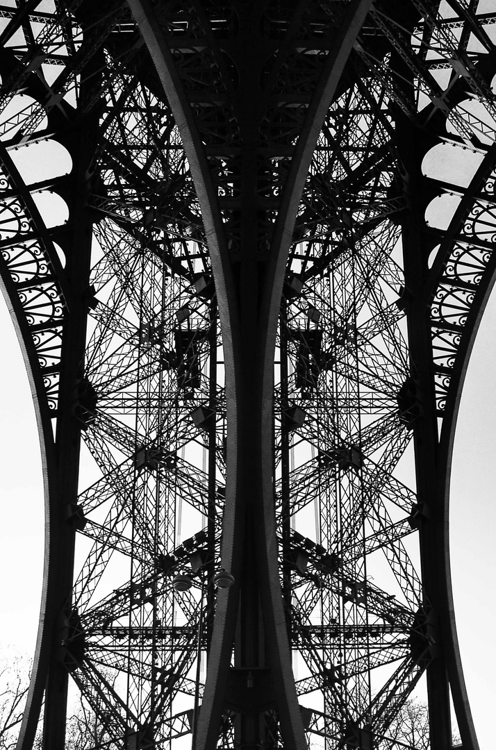 Detail Eiffelturm
