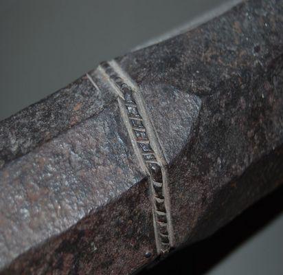 detail einer arkebuse (hakenbüchse)