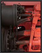 Detail einer Dampflok