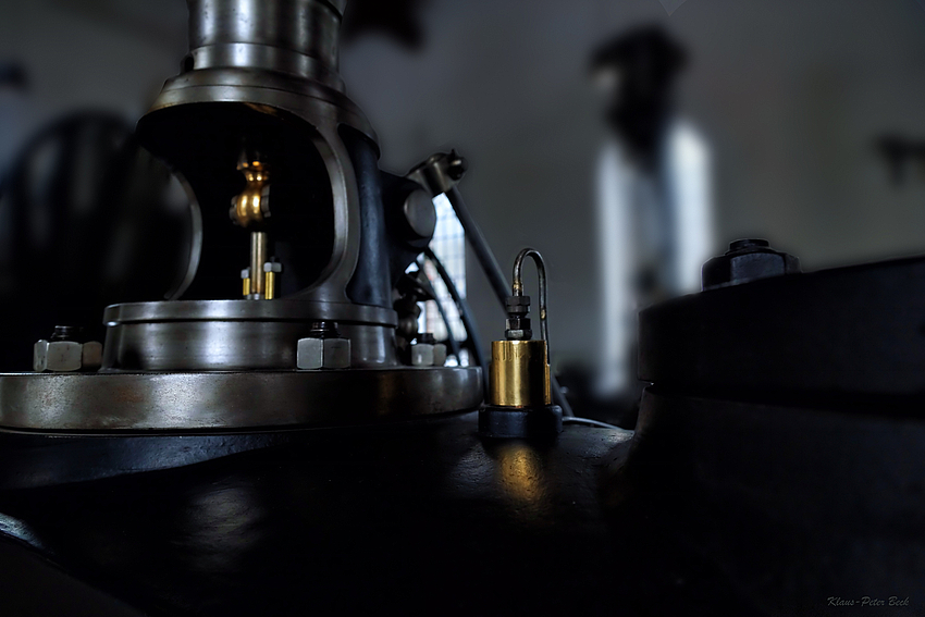 Detail einer Dampfmaschine 2
