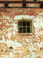 Detail eines alten Hauses