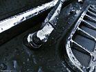 Detail eines alten Porsches