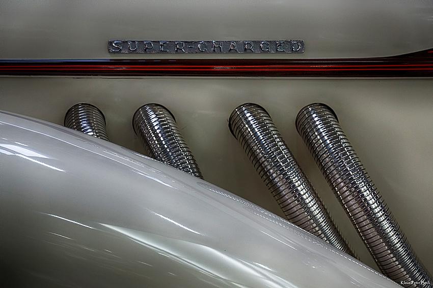 Detail eines Auburn Cabrio