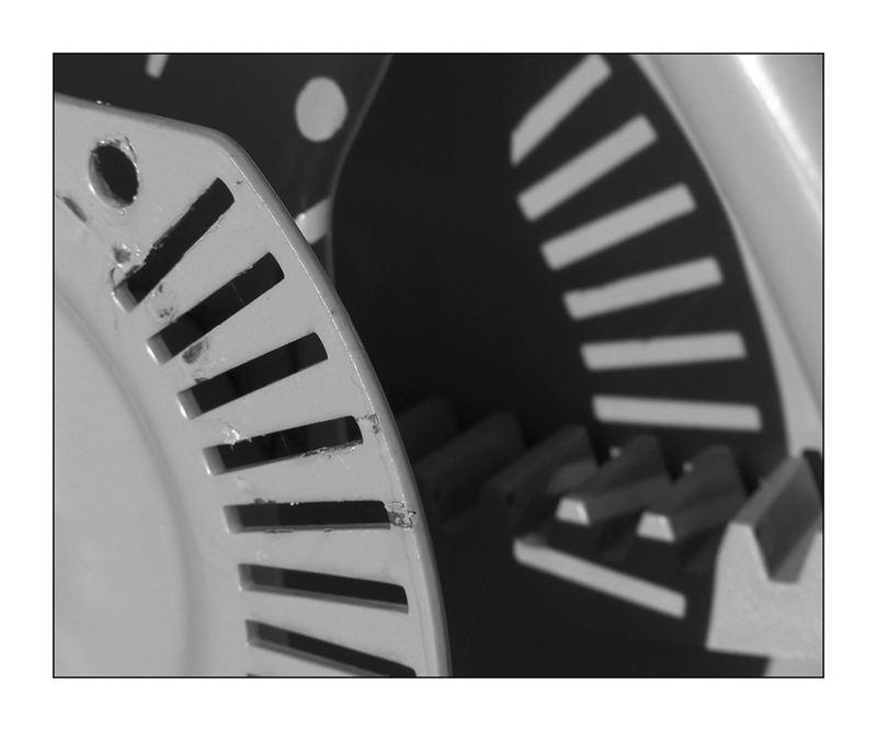 Detail eines Betonmischers