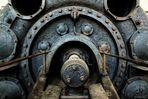 Detail eines Gaskompressor