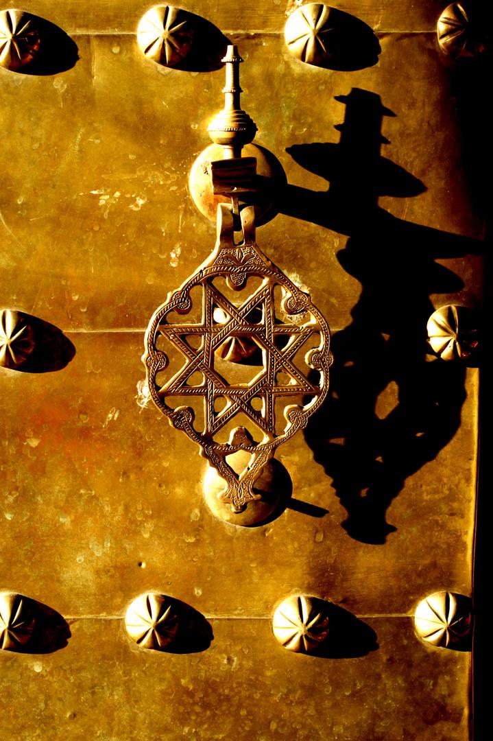 Detail eines Tores in den Souks von Marrakech