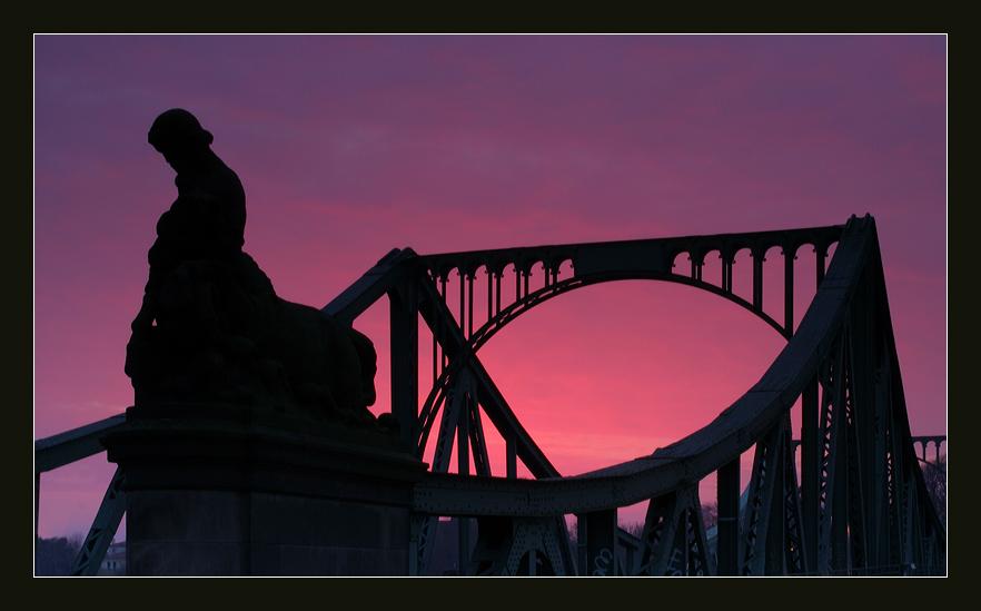 Detail Glienicker Brücke