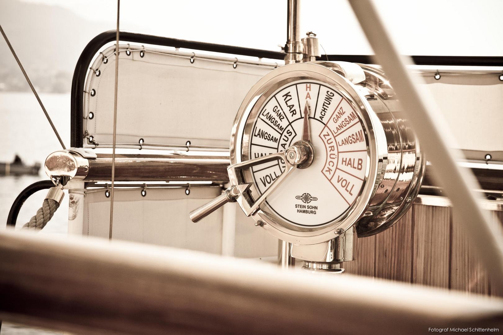 Detail, Hohentwiel   Das königliche Dampfschiff. Seit 1913.   Lindau im Bodensee