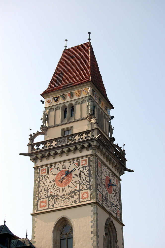 Detail in der Passauer Altstadt - Oktober 2007