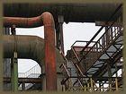 """Detail-Industriekulturerbe Hochofenwerk """"Phönix West""""- Grundstein schon 1850 gelegt,"""