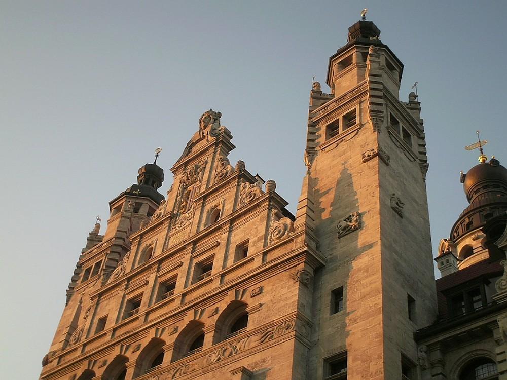 Detail Leipziger Rathaus