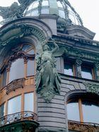 Detail of the Singer House at Newski-Prospect