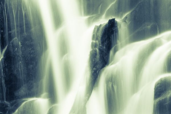 Detail of Tork Waterfall