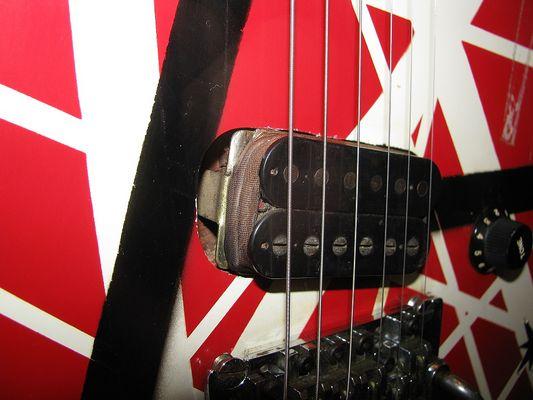 Detail (Pickups) Eddie Van Halen Gitarre