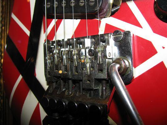 Detail (Steg..) Eddie Van Halen Gitarre