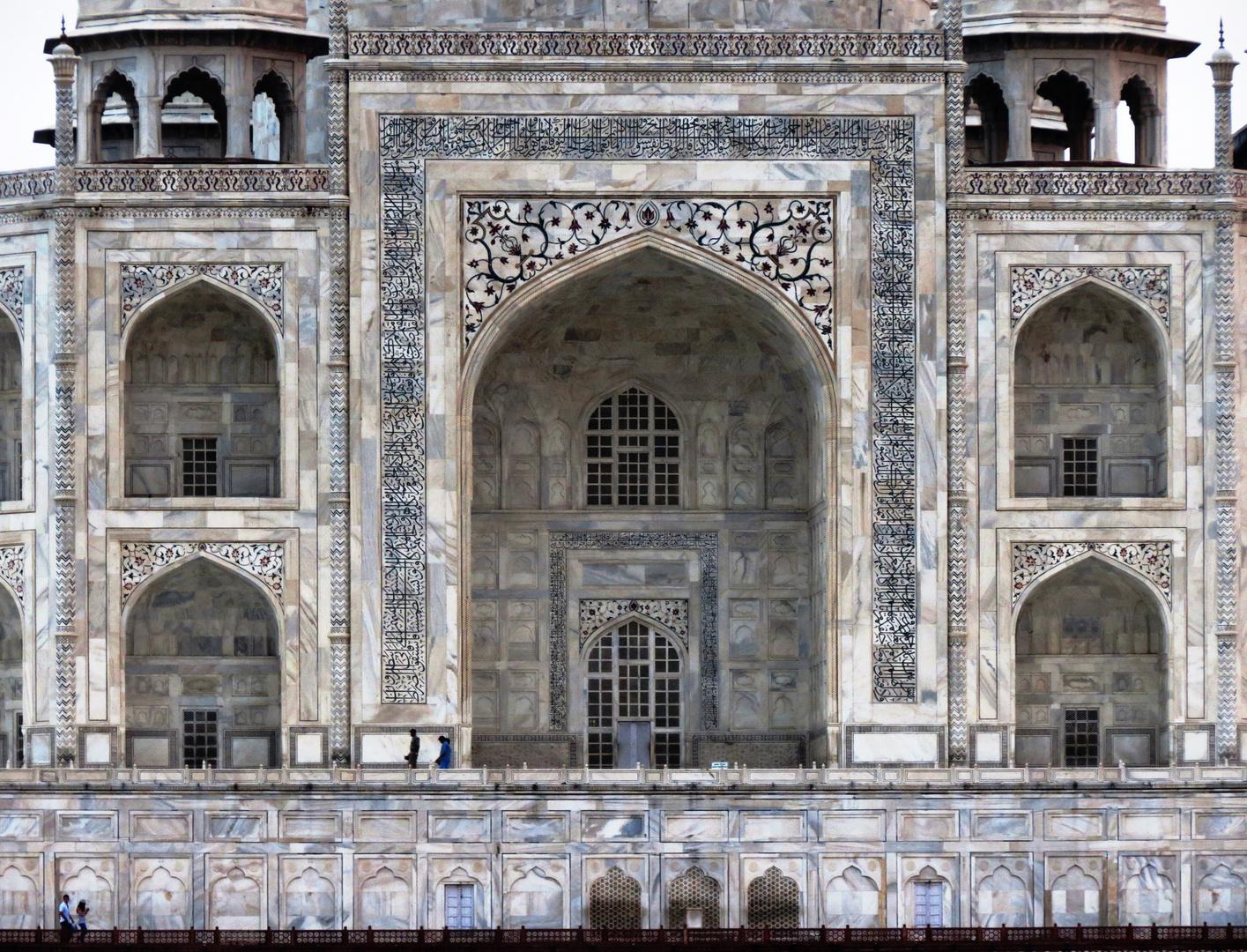 Detail Taj Mahal