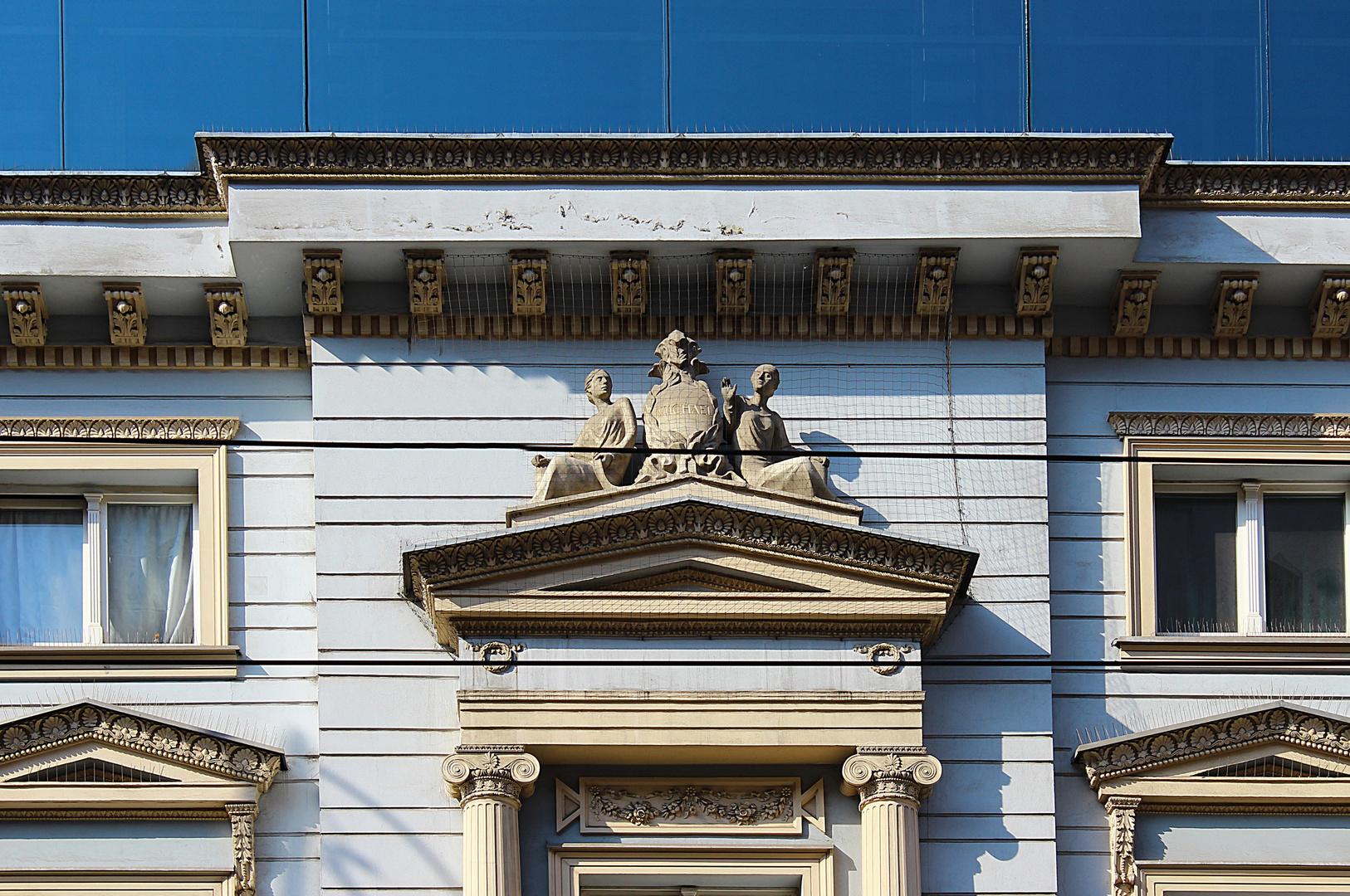 Detail vom ehemaligen Wohnhaus der Familie Stein in Wroclaw