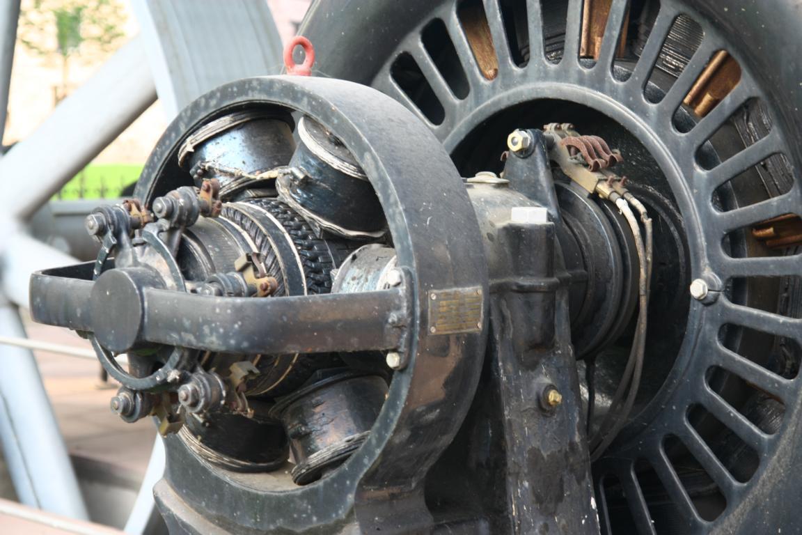 Detail vom Generator