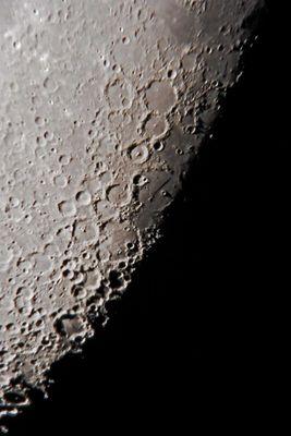 Detail vom Mond