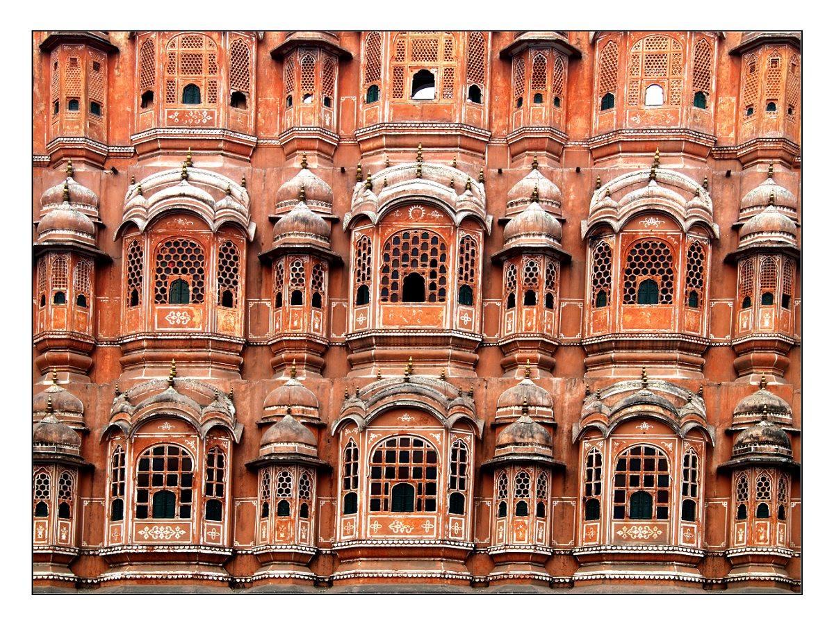 Detail vom Palast der Winde