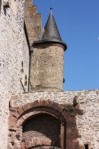 Detailansicht Burg Vianden
