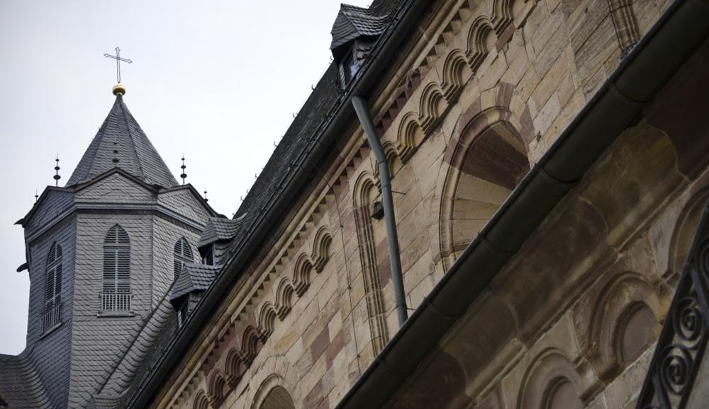 Detailansicht des Fritzlarer Doms