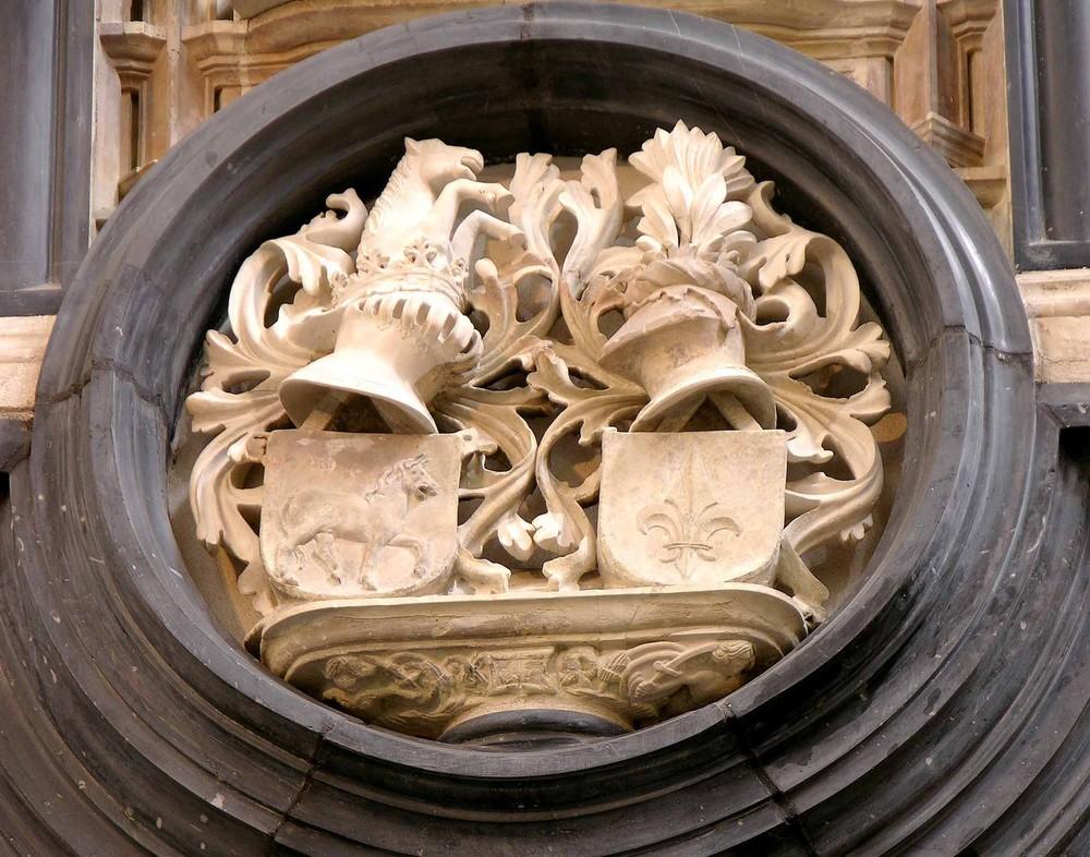 Detailansicht des Lettners in St.Maria im Kapitol, Köln