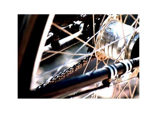 Detailansicht Fahrrad