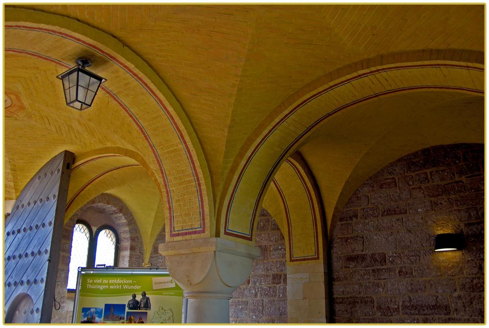 Detailansicht im Eingangsbereich der Wartburg