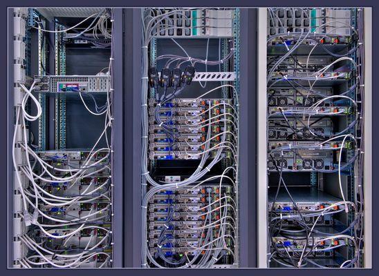 Detailansicht Rechenzentrum CERN