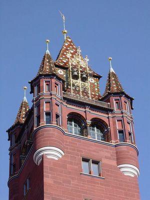 Detailaufnahme Rathaus Basel