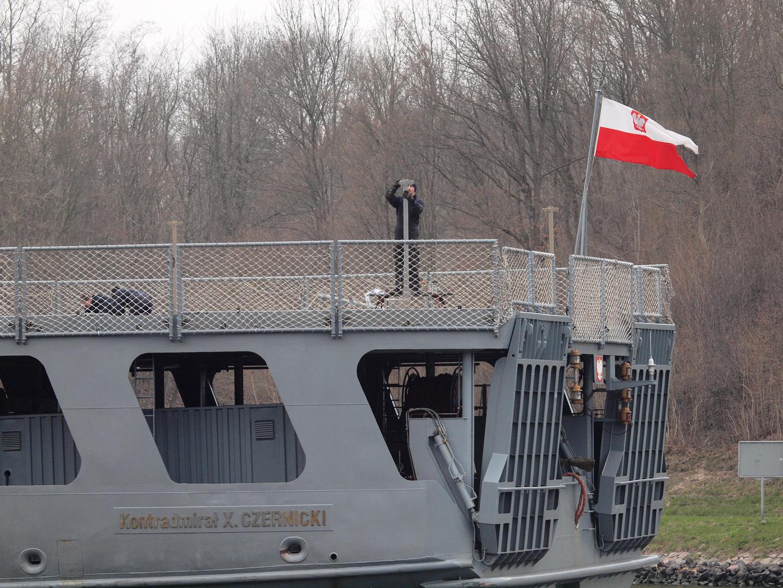 Detailaufnahme von der Kontradmiral X. CZERNICKI
