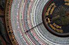 Details (3) der astronomischen Uhr der Marienkirche/Rostock