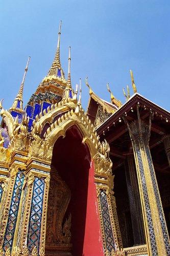Details aus dem Königspalast, Bangkok