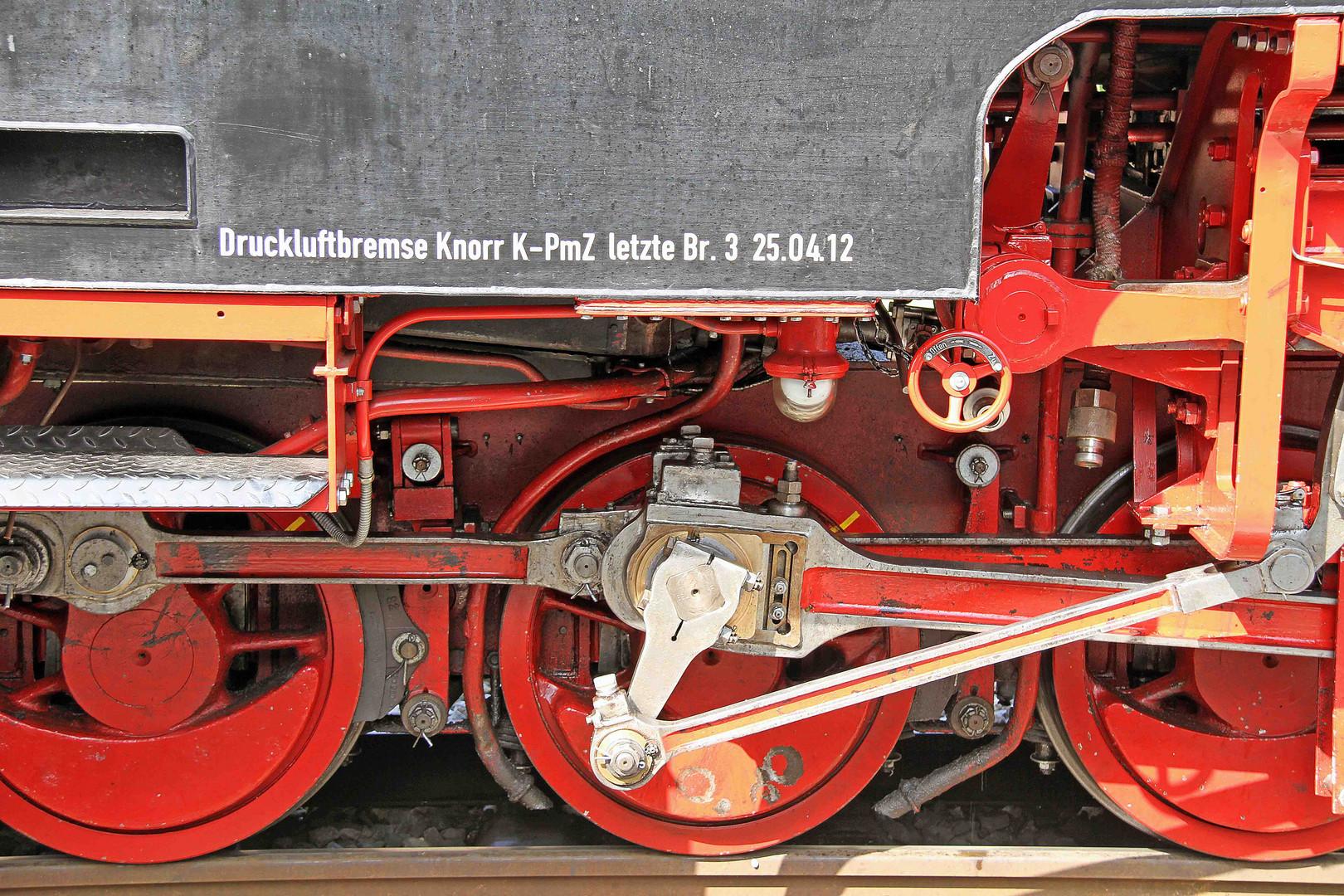 Details der Öchsle-Lokomotive