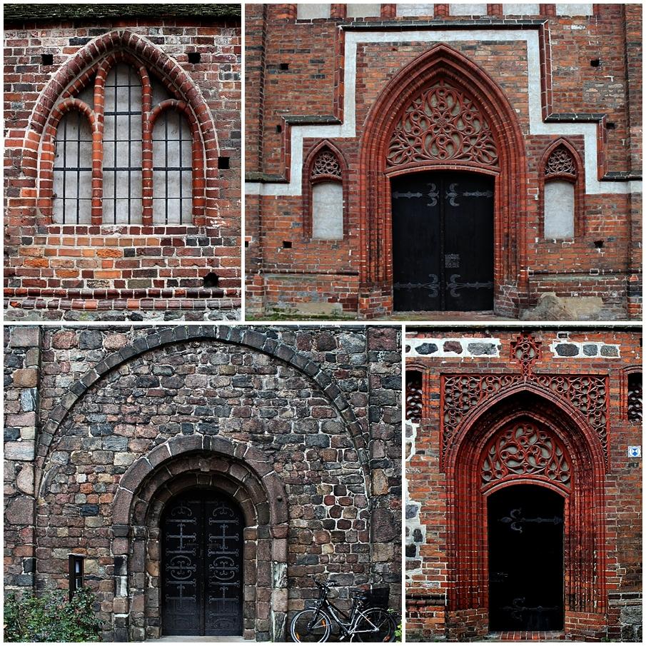 Details der St. Gotthardtkirche in Brandenburg