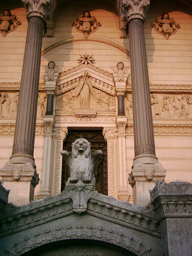 Details of Lion's cathedral