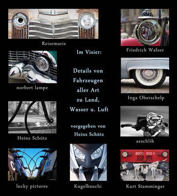 *Details von Fahrzeugen* Collage von Susanna