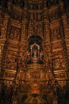 Detalle Altar mayor Santuari de la Mare de Déu de La Gleva (Les Masies de Voltregá/Osona/Barcelona)