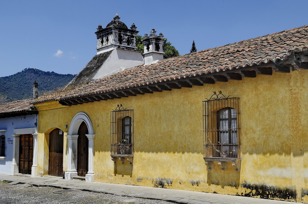 Detalle Calle Antigua-2 /Guatemala