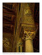 Detalle columnas Catedral de Monreale ( Palermo Sicilia Italia )