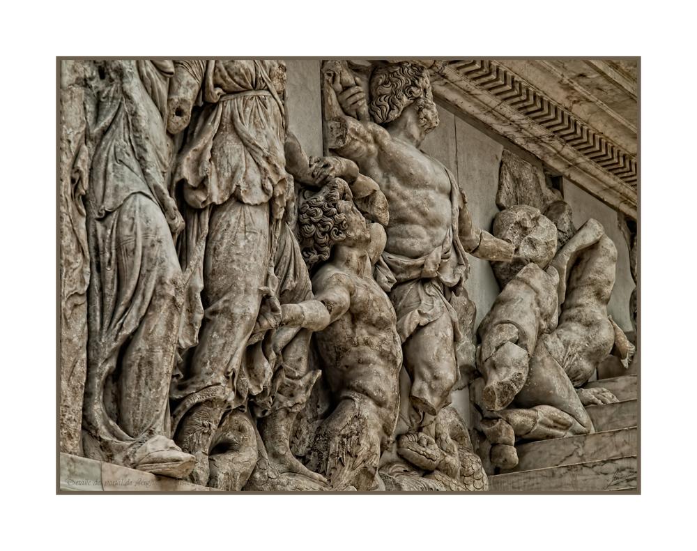 Detalle del portal de Pérgamo (Museo Pérgamo Berlin Alemania)
