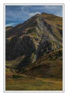 Detalle Tuc d'Areno a 2.522 m ( Val d'Aran Lleida Catalunya )