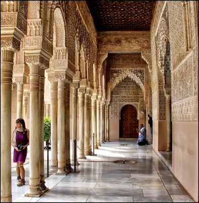 Detalles de la Alhambra...